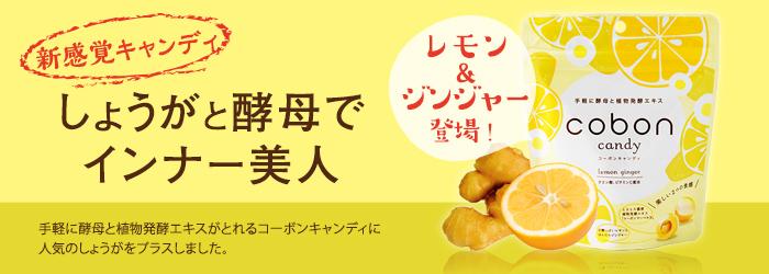 新感覚キャンディ しょうがと酵母でインナー美人
